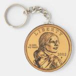 Dólar de Sacagawea Llaveros