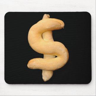 Dólar del pan tapete de ratón
