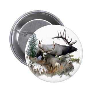 Dólar del trofeo del toro del monstruo pin redondo de 2 pulgadas