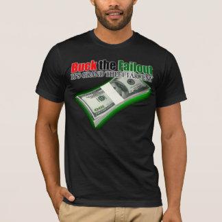 Dólar el desalojo urgente él camiseta del