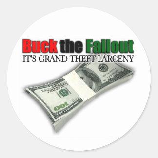 Dólar el pegatina del failout