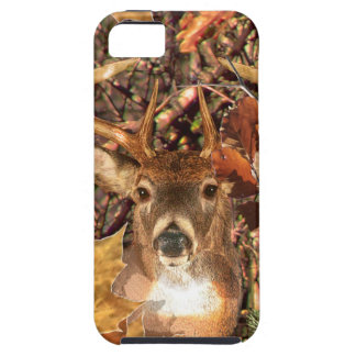 Dólar en ciervos de la cola blanca de Camo iPhone 5 Case-Mate Protectores