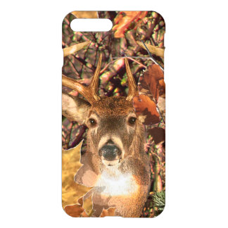Dólar en ciervos de la cola blanca de Camo Funda Para iPhone 7 Plus