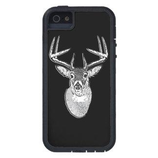 Dólar en ciervos negros de la cola blanca funda para iPhone SE/5/5s