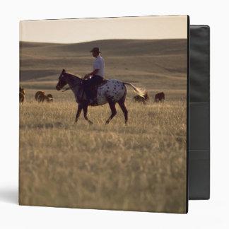 """Dólar Holmes del ranchero que monta una mirada del Carpeta 1 1/2"""""""