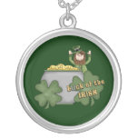 Dólar irlandés collar personalizado