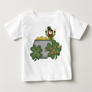 Dólar irlandés playera de bebé
