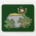 Dólar irlandés tapetes de raton