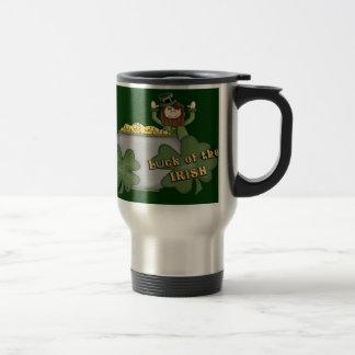 Dólar irlandés taza de café