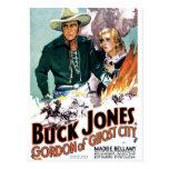 Dólar Jones - Gordon de la ciudad del fantasma Postales