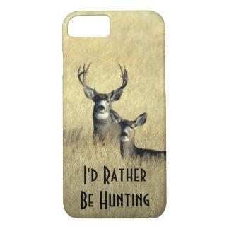 dólar masculino del ciervo mula de la cola blanca funda iPhone 7