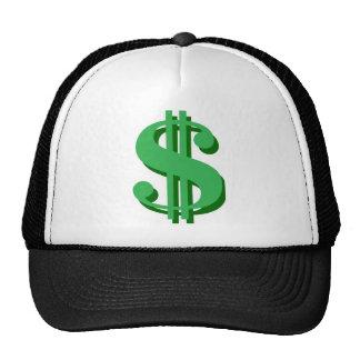 dólar-muestra de $ gorros bordados