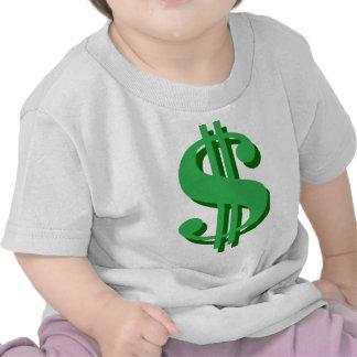 dólar-muestra de $ camisetas