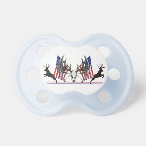 Dólar patriótico del Whitetail Chupetes