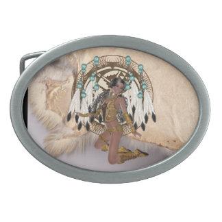 Dólar virginal indio de la correa del diseño de la hebilla cinturón
