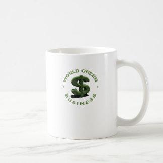 Dólar World Green Negocios Tazas