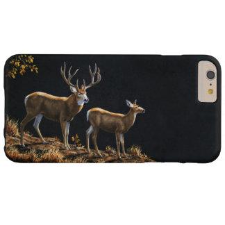 Dólar y gama del ciervo mula funda de iPhone 6 plus barely there