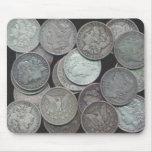 Dólares de Morgan Alfombrillas De Raton