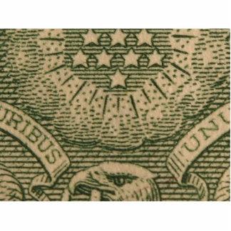 Dólares macros de dinero de las cuentas escultura fotografica