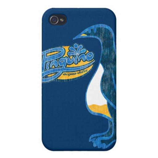 Dolce del acqua de Pinguino iPhone 4 Carcasa