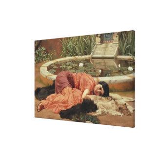 Dolce Far Niente, 1904 Canvas Print