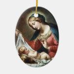 Dolci Madonna, Italia Ornaments Para Arbol De Navidad