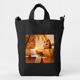 Dolhin in the sunset duck bag