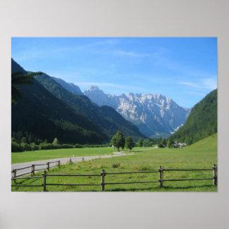 Dolina Eslovenia de Logarska Posters