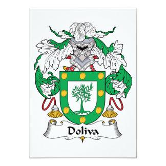 Doliva Family Crest Custom Invitation