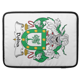 Doliva Family Crest Sleeve For MacBook Pro