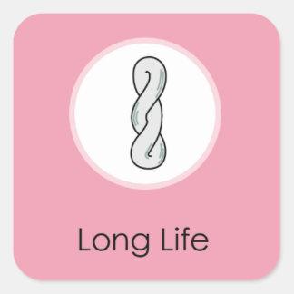 Doljabi Doljanchi Korean First birthday Long Life Square Sticker