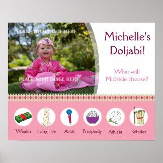 Doljabi poster 1st Korean birthday Girl