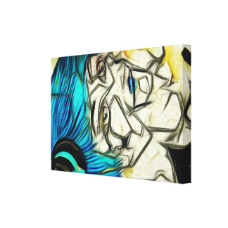 Doll Abstraction Canvas Print