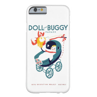 Doll and Buggy Parade Barely There iPhone 6 Case