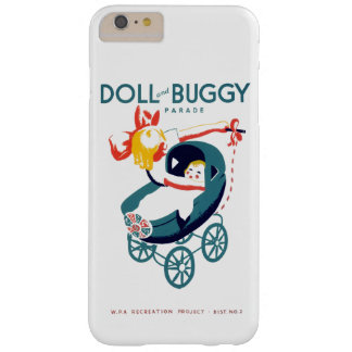 Doll and Buggy Parade Barely There iPhone 6 Plus Case