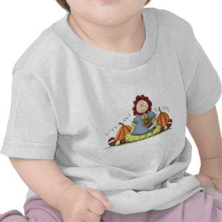 Doll and Pumpkins Shirt