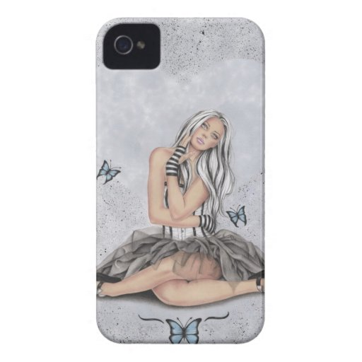 Doll at heart Butterfly Case