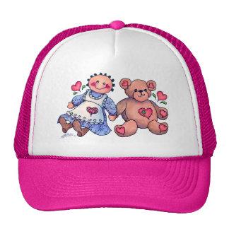 DOLL & BEAR by SHARON SHARPE Trucker Hat