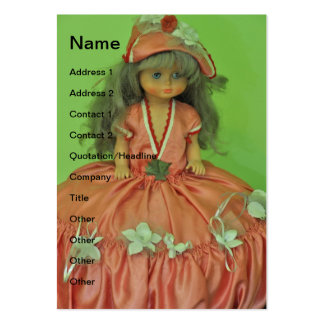 Doll Large Business Cards (Pack Of 100)