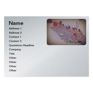 doll display pack of chubby business cards