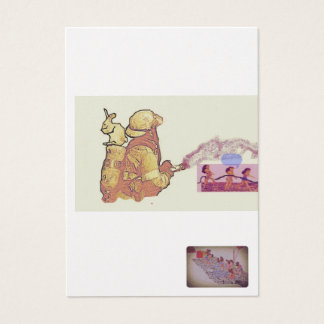 doll display business card