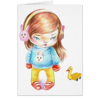 """Doll & Duckie"" Yan Wei | 闫威 Card"