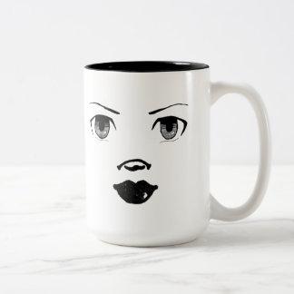Doll Face Coffee Mugs