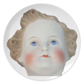 Doll Head Plate