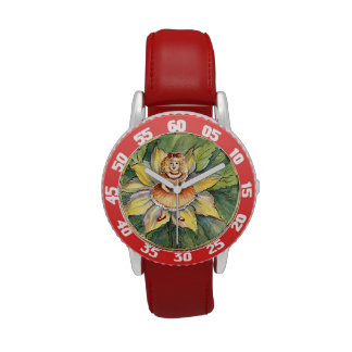 Doll in the Flower Princess Watch