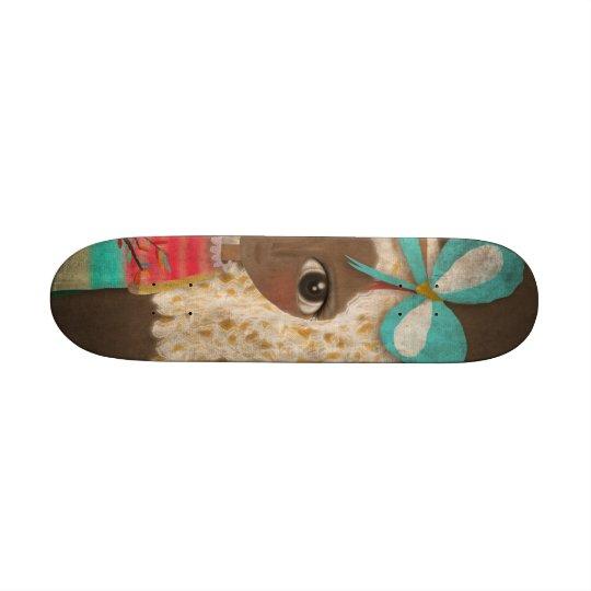 Doll Kawaii skateboard vintage