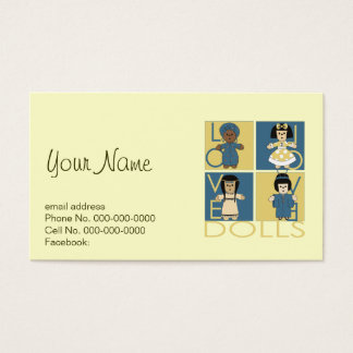 Doll Lover Business Card