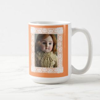 Doll Lovers Have More Fun Steiner Face Doll Mug