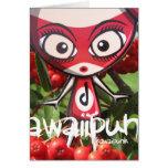 Doll Mascot Card