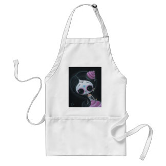 doll of the dead adult apron